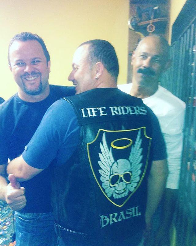 6 anos atrás! Primeira prova do nosso escudo! O nascimento do Life Riders M.C